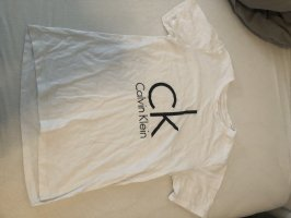 Calvin Klein T-shirt bianco-nero