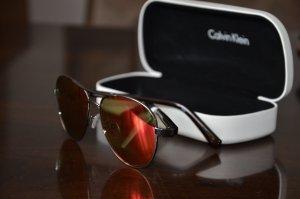 Calvin Klein Okulary czerwony