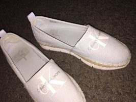 Calvin Klein Ballerinas with Toecap baby blue