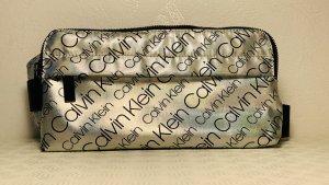 Calvin Klein Riñonera color plata Poliéster