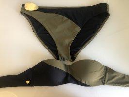 Calvin Klein Bikini grün schwarz Gr.L und 34B