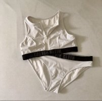 Calvin Klein Bikini blanco-negro