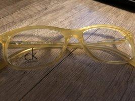 Calvin Klein Occhiale giallo pallido