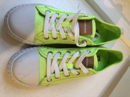 Calvin Klein CK sneaker Vans Leinen canvas neon Schuhe 36