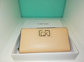 Calvin Klein Portefeuille rose chair-gris vert