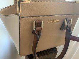 Calvin Klein Bolso con correa blanco puro-beige