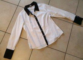 Calvin Klein Hemdbluse Damen * schwarz/weiß * Größe L * Neu