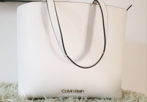 Calvin Klein Sac Baril blanc