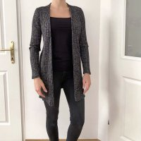 Calvin Klein Jeans Kardigan czarny-srebrny