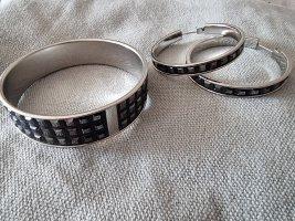 Calvin Klein Jeans Torebki Creole czarny-srebrny
