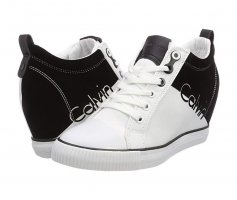 Calvin Klein Jeans Damen Rory Nylon/Flocking Hohe Sneaker Gr.41