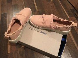 Calvin Klein Jeans Slip-on Sneakers dusky pink