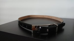 Calvin Klein Leather Belt black leather