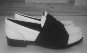 Calvin Klein Moccasins white-black
