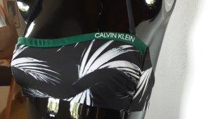 Calvin Klein Monokini czarny-petrol