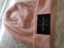 Calvin Klein Cappello in tessuto nero-rosa pallido