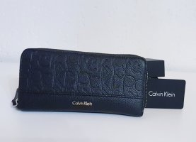 Calvin Klein Jeans Wallet black-gold-colored imitation leather