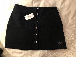 Calvin Klein Denim Skirt black