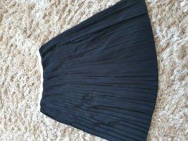 Calvin Klein Pleated Skirt dark violet-black polyester