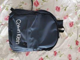 Calvin Klein Sac à dos de randonnée bleu
