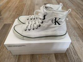 Calvin Klein High top sneaker wit