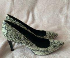 Calvin Klein Budapest schoenen zwart-lichtgrijs Leer