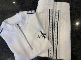 Calvin Klein Ensemble en jersey blanc-noir coton