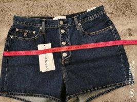 Calvin Klein Jeans Spijkershort blauw