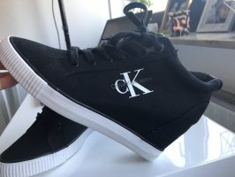 Calvin Klein Wedge Sneaker black
