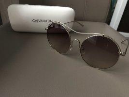 Calvin Klein Okulary złoto