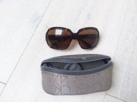 Calvin Klein Okulary ciemnobrązowy-brązowy Tworzywo sztuczne