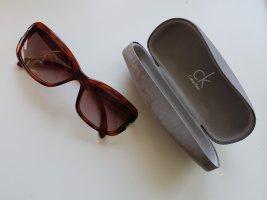 Calvin Klein Okulary przeciwsłoneczne brązowy-cognac