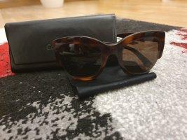 Calvin Klein Hoekige zonnebril bruin