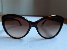 Calvin Klein Okulary motylki ciemnobrązowy