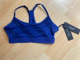 Calvin Klein Top tipo bustier azul-azul oscuro