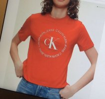 Calvin Klein Cropped top rood