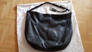 Calvin Klein Tasche Beuteltasche schwarz Leder