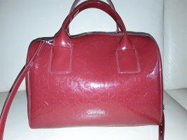 Calvin Klein Jeans Sac bandoulière rouge framboise polyuréthane
