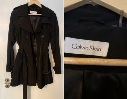 Calvin Klein Trench Coat black