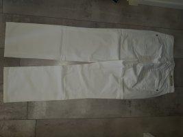 Cambio Jeans Spodnie z pięcioma kieszeniami biały