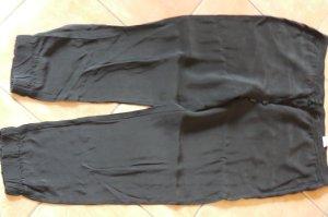 Cambio Boyfriend Trousers black copper rayon