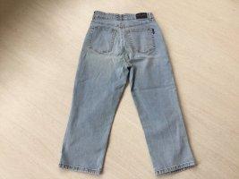 Cambio Jeans Jeansy z prostymi nogawkami błękitny