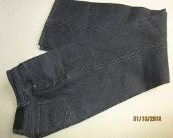 Cambio Jeans Spodnie z wysokim stanem czarny Bawełna
