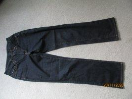 Cambio Jeansy z prostymi nogawkami czarny Bawełna