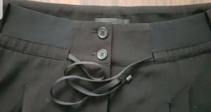 Cambio Pleated Trousers black