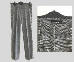 Cambio Woolen Trousers black-white wool