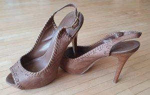 Aldo High Heels light brown-grey brown