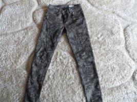 Jeans slim multicolore coton