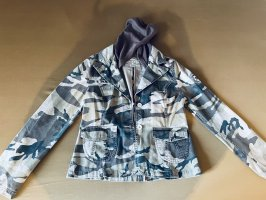 9886 DNM Vintage Wear Veste en jean marron clair-kaki