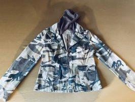 9886 DNM Vintage Wear Jeansowa kurtka jasnobrązowy-khaki